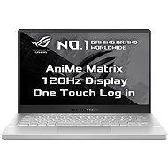 Asus ROG Zephyrus G14 GA401II-AniMe095T Moonlight White AniMe Matrix kovový - Herný notebook