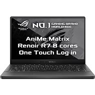 Asus ROG Zephyrus G14 Eclipse Gray AniMe Matrix version kovový - Herný notebook