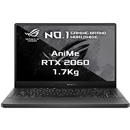 Asus ROG Zephyrus G14 GA401IV-AniMe132T Eclipse Gray s AniMe Matrix version kovový - Herný notebook