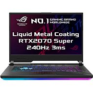 Asus ROG Strix G15 G512LWS-AZ003T Original Black - Herný notebook