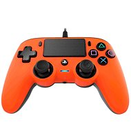 Nacon Wired Compact Controller PS4 – oranžový - Gamepad