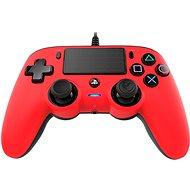 Nacon Wired Compact Controller PS4 – červený - Gamepad