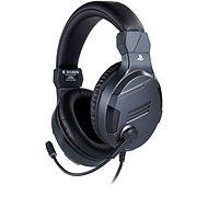 BigBen PS4 Stereo-Headset v3 – titan - Herné slúchadlá
