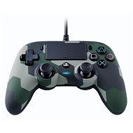 Gamepad Nacon Wired Compact Controller PS4 – zelená kamufláž