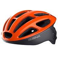Prilba na bicykel SENA cyklo prilba R1 so zabudovaným headsetom oranžová