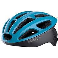 Prilba na bicykel SENA cyklo prilba R1 so zabudovaným headsetom modrá