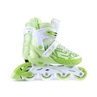 Spokey Turis bielo-zelené - Inline korčule