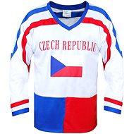 Hokejový dres ČR biely - Dres
