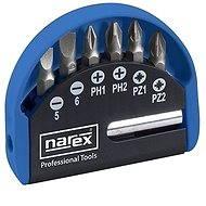 Narex Industrial-CrV 7-Bit Box - Sada bitov