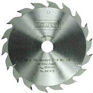 Narex 18WZ Standard, 160 mm - Pílový kotúč na drevo