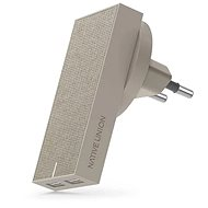 Native Union Smart Charger Dual USB Taupe