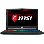 MSI GP63 8RE-499CZ Leopard - Herný notebook