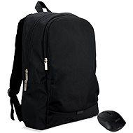 """ACER Notebook Starter Kit – 15,6"""" batoh čierny  +  bezdrôtová myš čierna - Batoh"""