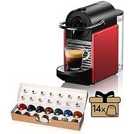NESPRESSO De'Longhi EN 124 R, červená - Kávovar na kapsuly