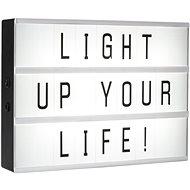 Smartwares LED svítidlo A4 vč. 85 znaků 10.042.82