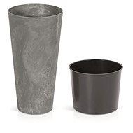 Prosperplast TUBUS SLIM BETON EFFECT s vkladom marengo 25 cm