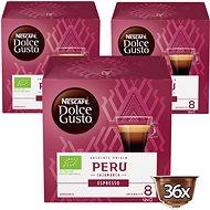 NESCAFÉ Dolce Gusto Peru Cajamarca Espresso 12 ks × 3 - Kávové kapsuly