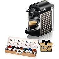 NESPRESSO KRUPS Pixie Titan XN304T10 - Capsule Coffee Machine