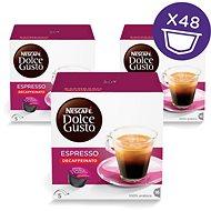 Nescafé Dolce Gusto Espresso Decaffeinato Red 16 ksx3 - Kávové kapsuly