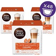 Nescafé Dolce Gusto Latte Macchiato Caramel 16 ks × 3 - Kávové kapsuly