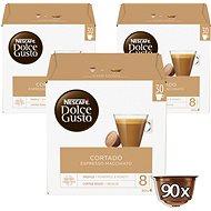 Nescafé Dolce Gusto Cortado Espresso Macchiato 30 ks × 3 - Kávové kapsuly