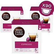Nescafe Dolce Gusto Espresso 30 ks × 3 - Kávové kapsuly