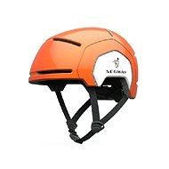 Segway detská oranžová - Prilba na bicykel