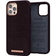 Njord Eldur Case for iPhone 12/12 Pro Aubergine - Kryt na mobil