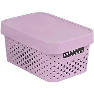 Úložný box Curver INFINITY DOTS box 4,5 l, ružový