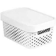 Curver INFINITY DOTS box 4,5 L – biely - Box