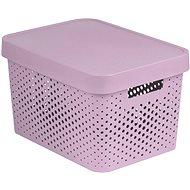 Curver INFINITY DOTS box 17 L – ružový - Box