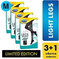 SCHOLL Light Legs 60DEN kompresné pančuchové nohavice čierne M 3+1 ks - Pančuchy