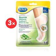 SCHOLL PediMask™ Expert Care Nourishing Foot Mask with Aloe Vera 1 pair 3 ×