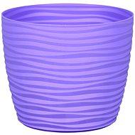 Obal na květník SAHARA PRIMULE plast světle fialový d11x9cm - Príslušenstvo