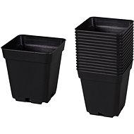 Kontejner pěstební plastový černý 10x10x11cm 20ks - Príslušenstvo