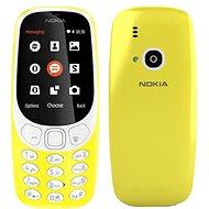 Nokia 3310 (2017) Yellow Dual SIM - Mobilný telefón