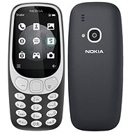 Nokia 3310 3G Charcoal - Mobilný telefón