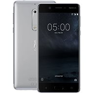 Nokia 5 Silver - Mobilný telefón