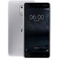 Nokia 6 Silver Dual SIM - Mobilný telefón