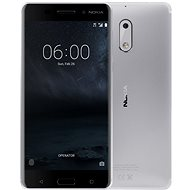Nokia 6 Silver Dual SIM