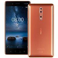 Nokia 8 Dual SIM Polished Copper - Mobilný telefón