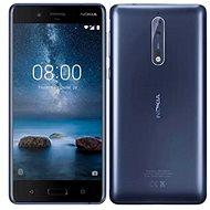 Nokia 8 Jeden SIM leštená modrá