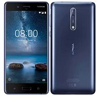 Nokia 8 Single SIM Polished Blue - Mobilný telefón