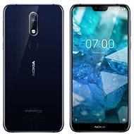 Nokia 7.1 Dual SIM modrá - Mobilný telefón
