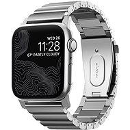 Nomad Titanium Band Silver Apple Watch 44/42mm - Remienok