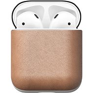 Nomad Leather Case Natural AirPods - Puzdro