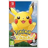 Pokémon Let's Go Pikachu! – Nintendo Switch - Hra na konzolu
