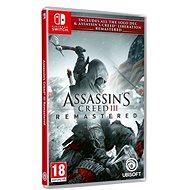 Assassins Creed 3 + Liberation Remaster – Nintendo Switch - Hra na konzolu