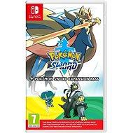 Pokémon Sword + Expansion Pass –  Nintendo Switch - Hra na konzolu
