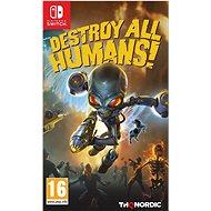 Destroy All Humans! – Nintendo Switch - Hra na konzolu